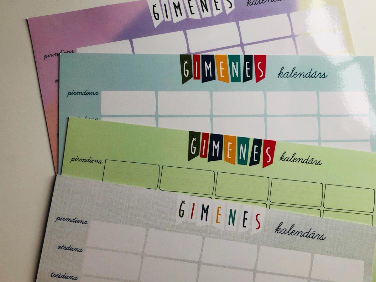 Magnētiskais Kalendārs A4 (Zaļš) + marķieris