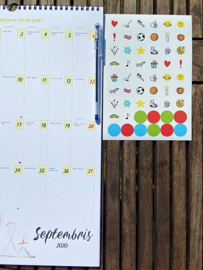 Ģimenes kalendārs 2020./2021. mācību gadam