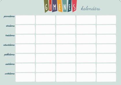 Magnētiskais Kalendārs A4 (gaiši zils) + marķieris